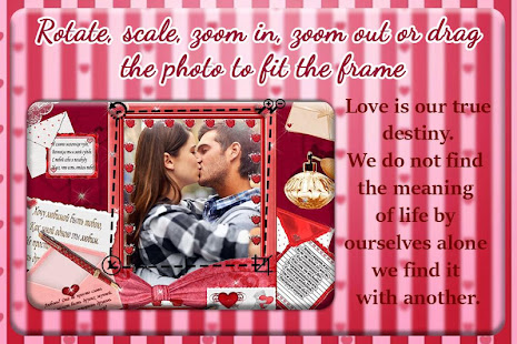 Download Valentine Day Photo Frame : Photo Editor For PC Windows and Mac apk screenshot 3