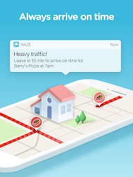 Waze - GPS, Maps, Traffic Alerts & Live Navigation APK screenshot thumbnail 13