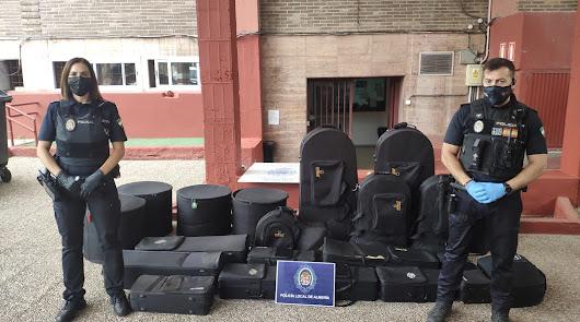 El Carmen recupera parte de los instrumentos robados: estaban en un descampado