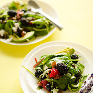 Berry Salad with Lavender Lemon Vinaigrette