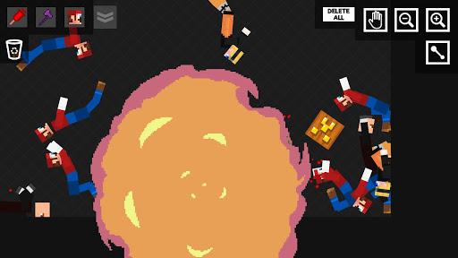 Stick Ragdoll Playground 2: Human Craft apkmr screenshots 4