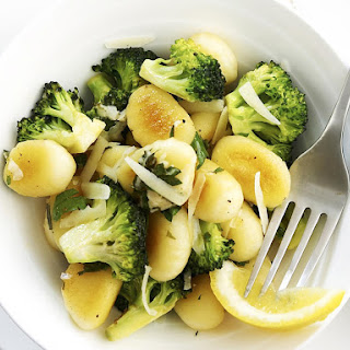 Gnocchi with Broccoli and Lemon