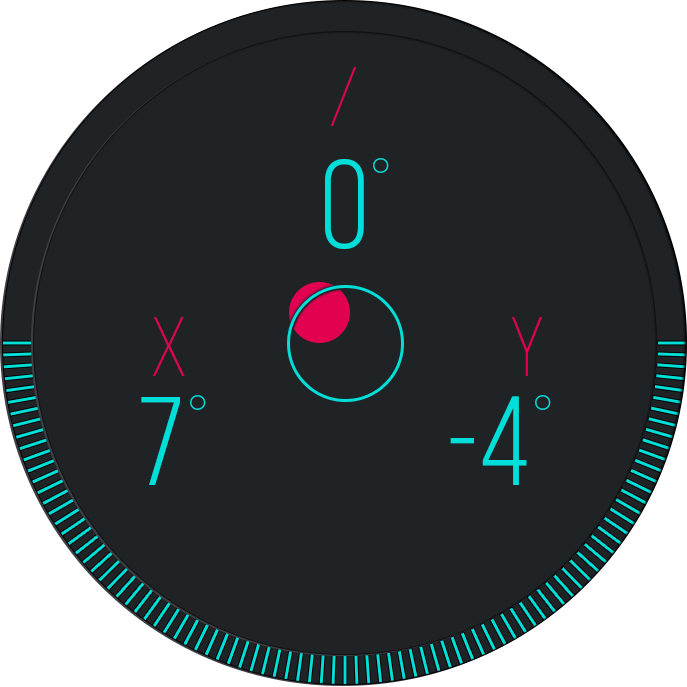 Bubble Level Clinometer- screenshot