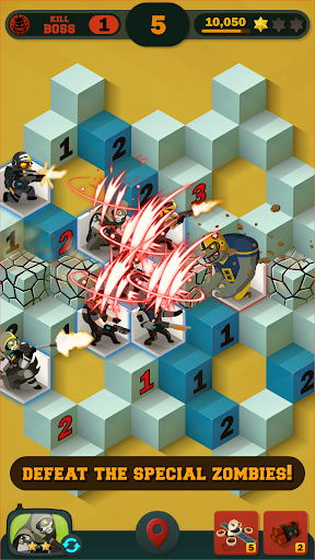 Zombie Sweeper: Minesweeper Action Puzzle 1.1.015 screenshots 3