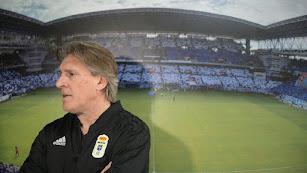 Sergio Egea ha vuelto al Oviedo para llevarlo al Play Off.