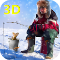 Ice Winter Fishing 3D icon