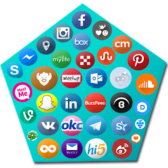 All In Social Networks - All Social Media apps