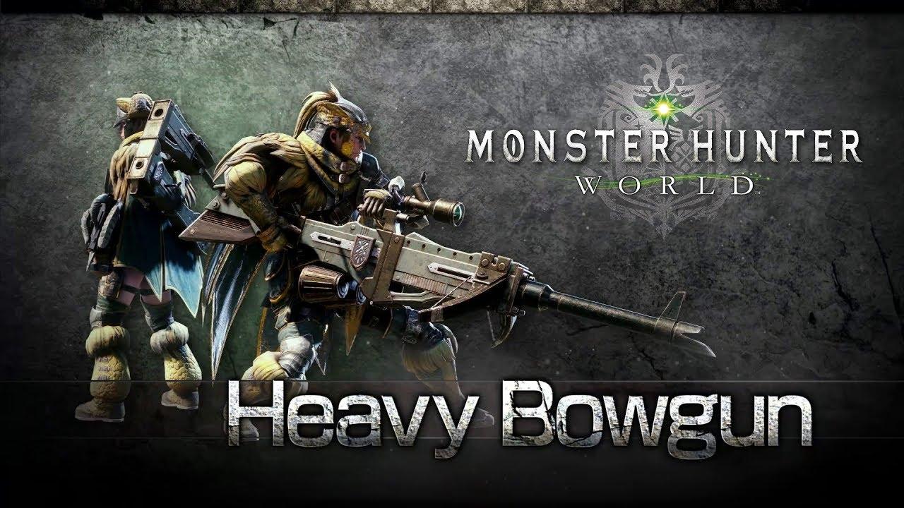 Monster Hunter World: Iceborne solo weapons heavy bowgun