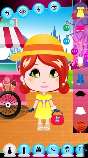 打扮的小女孩|玩休閒App免費|玩APPs