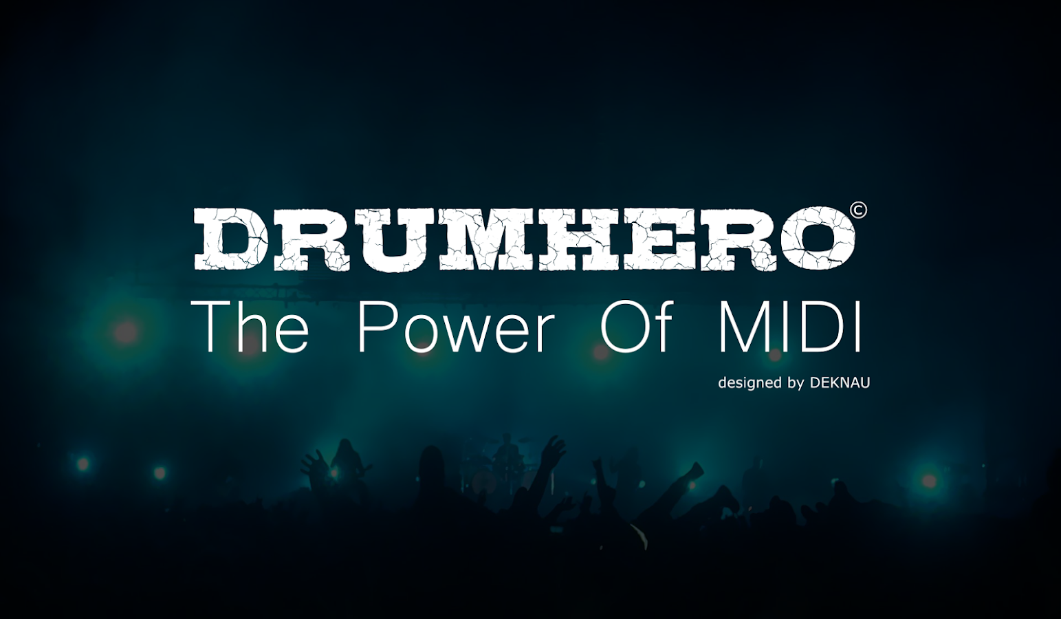 DrumHero : The Power Of MIDI- screenshot