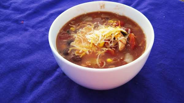 Southwest Chicken Stew For The Crock Pot