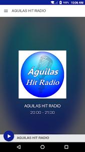 AGUILAS HIT RADIO screenshot 1