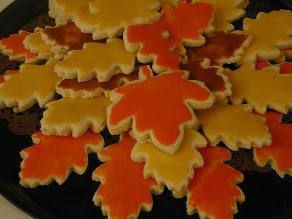 Cut Out Sugar Cookies Recipe