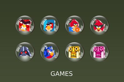 Glass 3D Icon Pack  screenshots 13