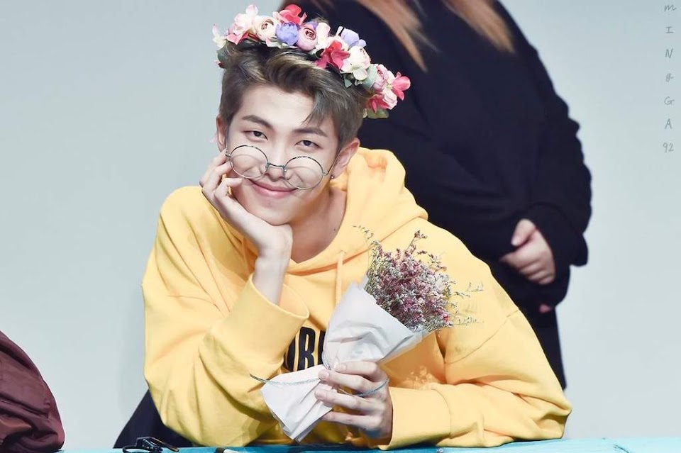 bts-rm-flower-crown