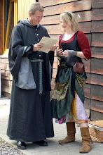 Photo: Dijarion Patharis und Marie.