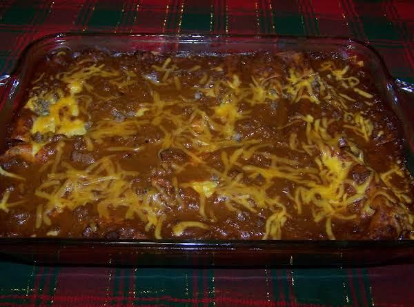 Max's Homemade Enchiladas