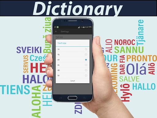 English To German Dictionary 1.6 screenshots 7