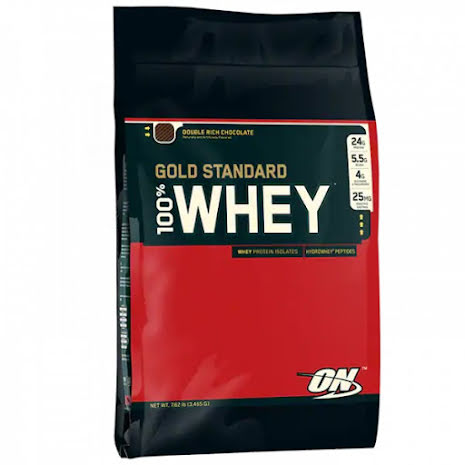 ON 100% Whey Gold Standard - Double Rich Chocolate 4,54kg