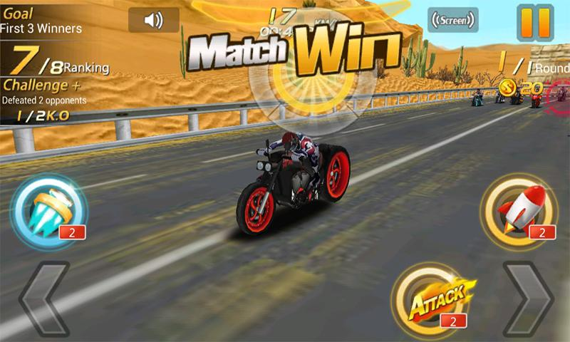Moto Racing Hero - screenshot