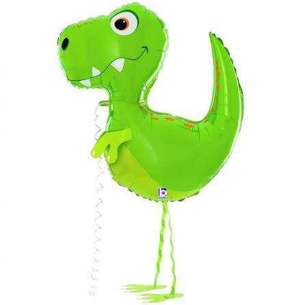 Folieballong - Balloon friends - Dino