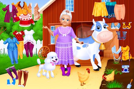 Oblíkací hry babička - náhled