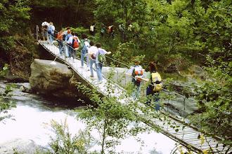 Photo: il ponte sopra alle cascate