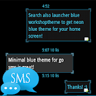 Ice Minimal Theme GO SMS Pro icon