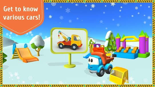 Leo the Truck and cars: Educational toys for kids 3