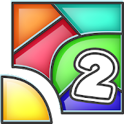 Color Fill 2 - Tangram Blocks