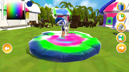 Little Pony Coloring Paint Creator 3d for Kids - náhled