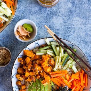 Vegetarian Sweet Potato Sushi Bowls