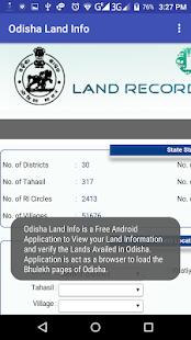 Odisha Land Info - náhled