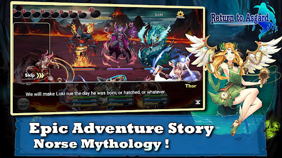 Download Return to Asgard (Fantasy RPG) For PC Windows and Mac apk screenshot 2