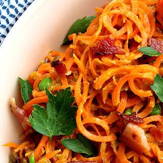 Carrots alla Carbonara.