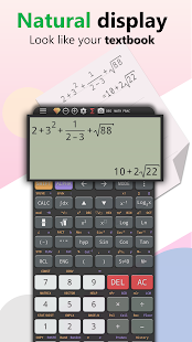 Graphing calculator ti 84 - simulate for es-991 fx Screenshot