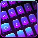 Simple Purple Light Keyboard icon