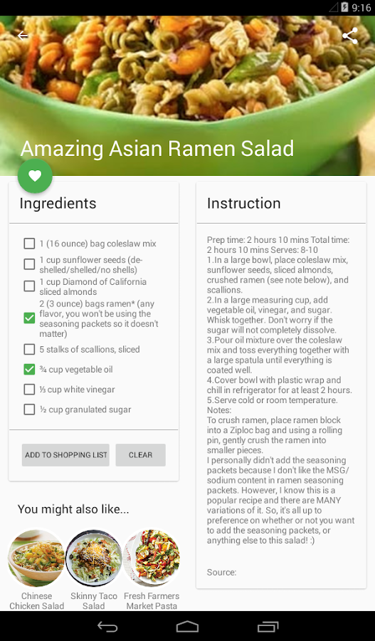 Food recipes network android apps on google play food recipes network screenshot forumfinder Choice Image