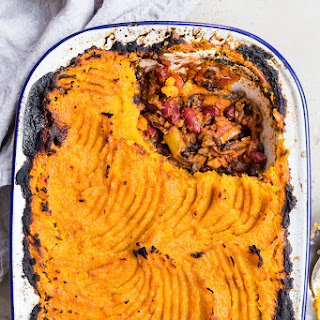 Sweet Potato and Black Bean Shepherd's Pie.