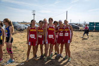 Photo: Varsity  Girls 5k Pasco Bulldog XC Invite @ Big Cross  Buy Photo: http://photos.garypaulson.net/p649440359/e45221e04