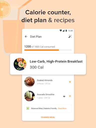 Calorie Counter,  Home Workout & Weight Loss Plans screenshots 3