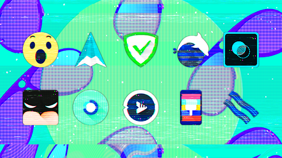 Glitch - Icon Pack- screenshot thumbnail