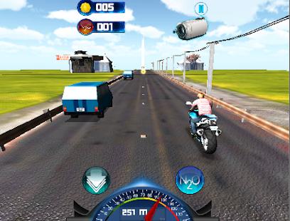 Traffic Fever Moto Rider 3D screenshot