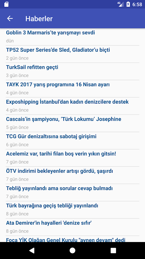 TurkSail- screenshot