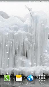 Frozen Waterfall HD Wallpaper 5