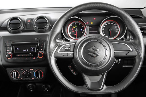 The interior offers the modern basic essentials including a multifunction steering wheel and Bluetooth connectivity. Picture: MOTORPRESS