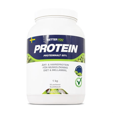 Better You Ärt och Havre Protein 1kg - Päron Kokos