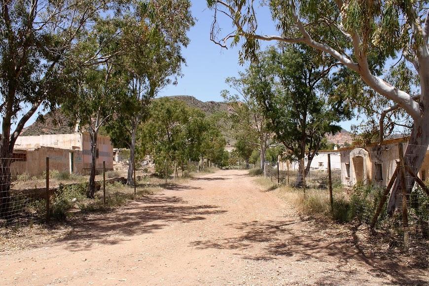 Antiguo poblado de Rodalquilar.