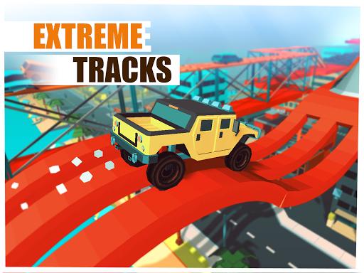 Skill Test - Extreme Stunts Racing Game 2020 apktram screenshots 10