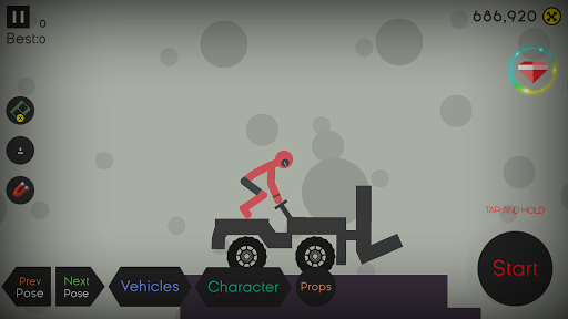 Stickman Ragdoll- Falling Fun apkpoly screenshots 1